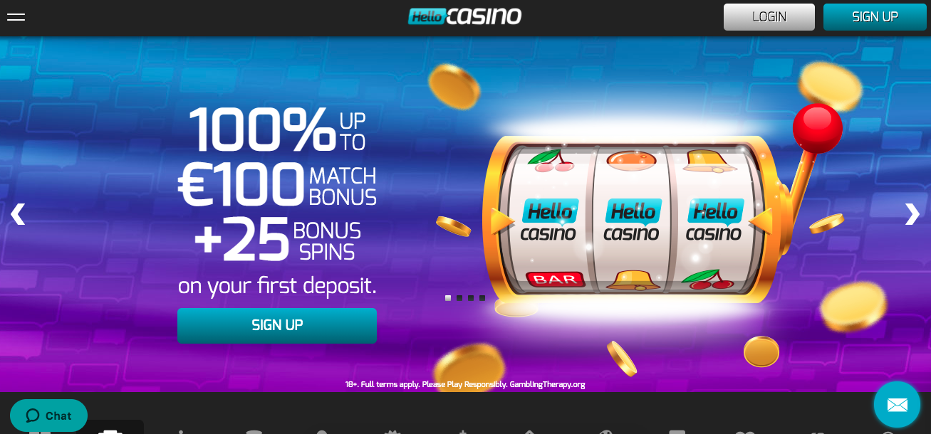 Hello Casino: The Welcome Package